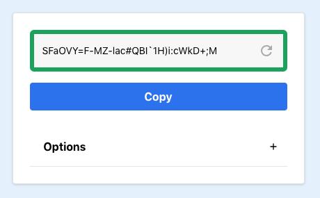 Password Generator Component